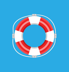 Lifebuoy isolated vector