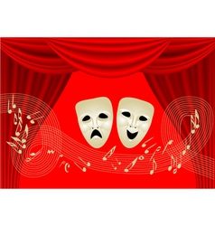 musical theatre vector image