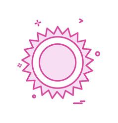 picnic icon design vector image