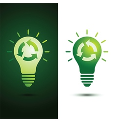 Recycle idea vector
