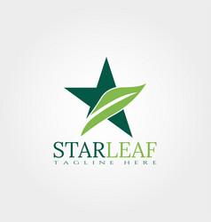 Star logo design vector