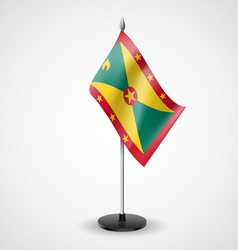 Table flag of Grenada vector image