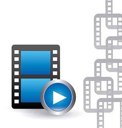Video player design vector