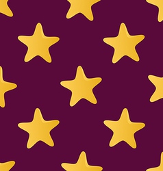 Cute seamless pattern tiling made of stars Endless vector image vector image