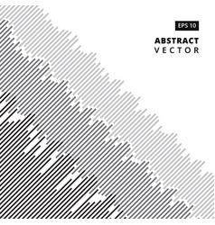 oblique lines gray black random tinted lines vector image vector image