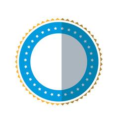 badge label decoration stamp template vector image