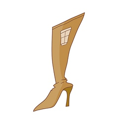 A boot vector image
