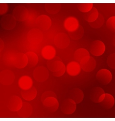 Abstract Christmas red light background vector image