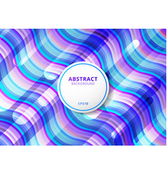 abstract pattern wave bright color background vector image