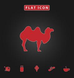 Camel computer symbol vector