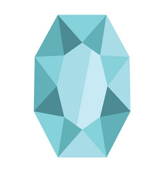 cartoon realistic gems jewels diamond brilliant vector image