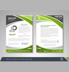 corporate business brochure vector image