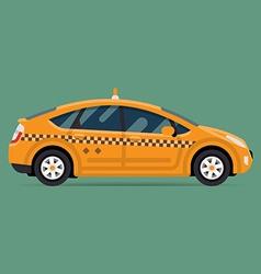 Eco Taxi Icon vector image