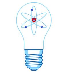 Electric light bulb vector