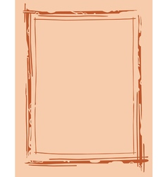 frame outline drawing vector image