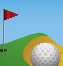 Golf design vector