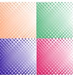 Grunge set stripe vector