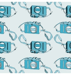 Photo camera Seamless pattern vector image