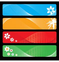 season banner for your design vector image