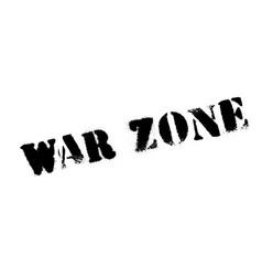 War zone rubber stamp vector
