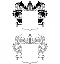cloak of arms vector image vector image
