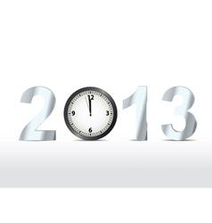 2013 countdown vector image vector image