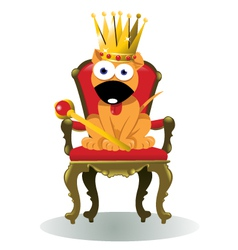 King of the house vector