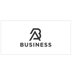 Ba ab logo design inspiration vector