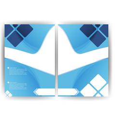 Background design a flyer brochure vertical vector