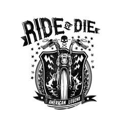 legendary bike vector image