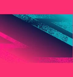Pink turquoise gradient grunge texture background vector