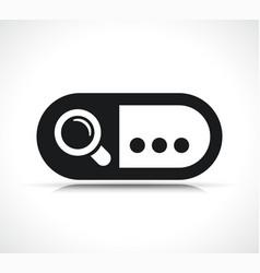Search bar icon symbol vector