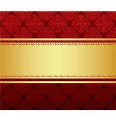 background gold vector image