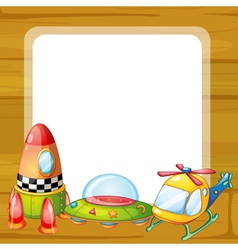 toys and window vector image