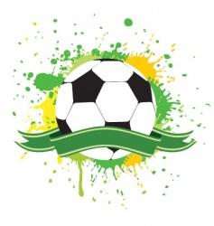 soccer ball 2 vector image