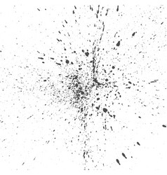 Black drops of ink or paint messy background vector