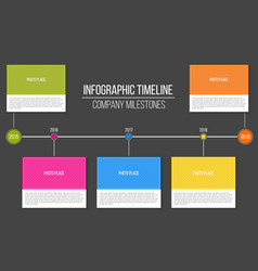 creative of infographic vector image