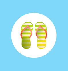 flip flop icon sign symbol vector image