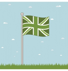 Great Britain landscape vector image