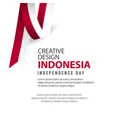 Happy indonesia independence day celebration vector