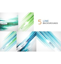 Mega collection of straight line backgrounds vector image