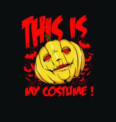 My costume vector