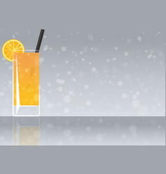 Official cocktail icon the unforgettable vector