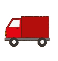 truck delivery icon image vector image