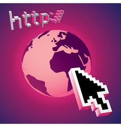 Website cursor vector image vector image