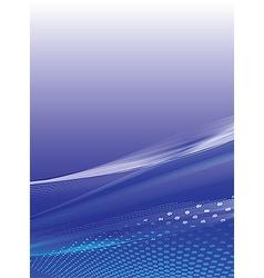 Blue stylish background vector image