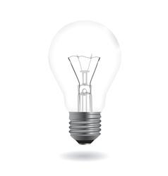 bulb realistic vector image