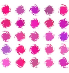 Abstract color pattern vector