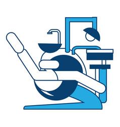Dental unit icon image vector