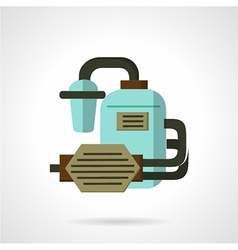 Flat icon for water supply vector